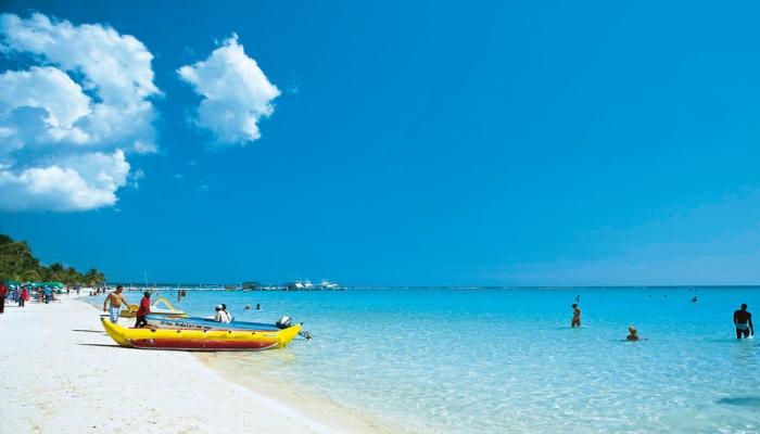 Фото пляжа бока чика доминикана
