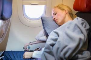 Как уснуть в самолете