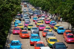 арестовали десятки тысяч таксистов
